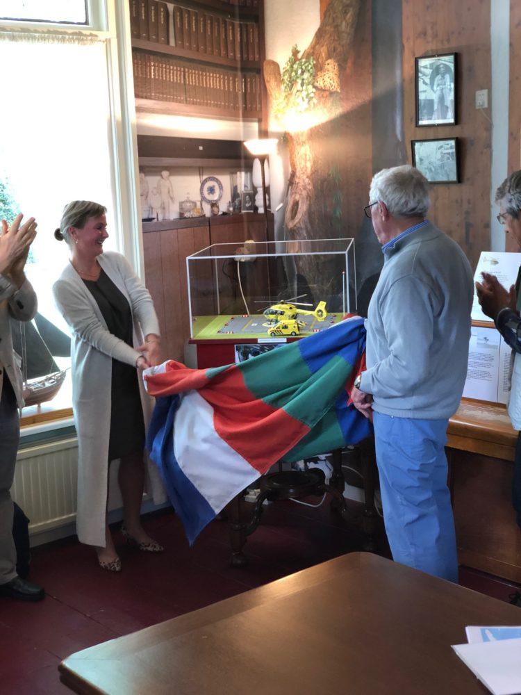 Huisarts Pauline Kouwenhoven opent de expositie
