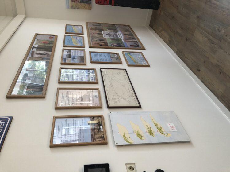Foto: De expositie over de Strandpalen en Kustverdediging