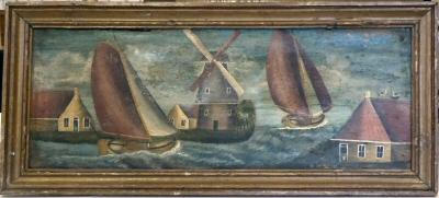 Schilderij van L.P. Teensma