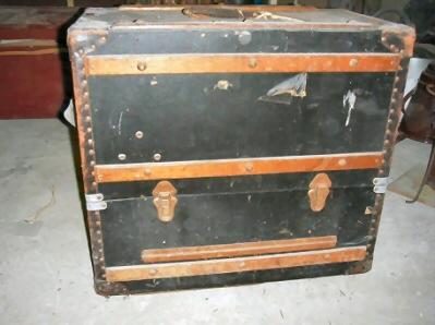 Episcoop in grote koffer ( F.P. Schut )