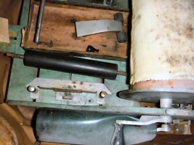 Stencilmachine, oud model.