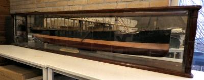Model schip: s.s. De Greve 1907 (ong. 2 meter). BC