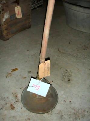 Waspolster ( met koper met houten steel )