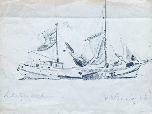Schets van Martin van Waning