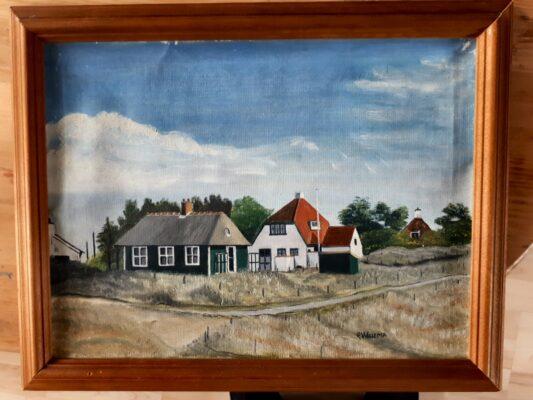 Schilderij van G Wielema