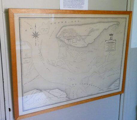 Kaart uit 1858