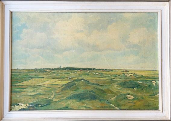 Olieverfschilderij van Geert Draaijer
