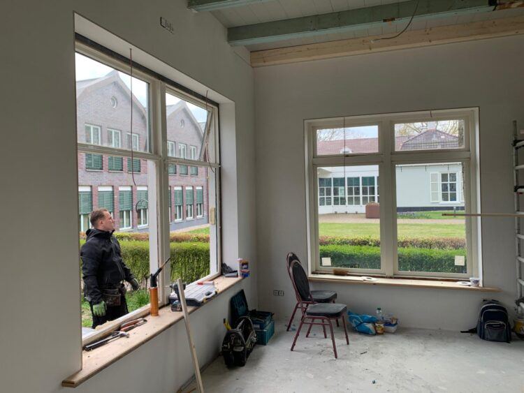 Alle ramen worden vervangen