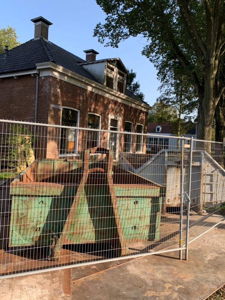 14 september: Verbouwing Koningshuis gestart
